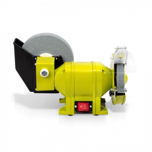 250 Watt Doppelschleifer - Ø 150 mm / 200 mm (Nass/Trocken)