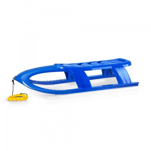 Schlitten BULLET blau mit Leine 40 x 102,5 cm