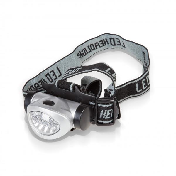 8 + 2 LED Stirnlampe - 15 m Leuchtweite