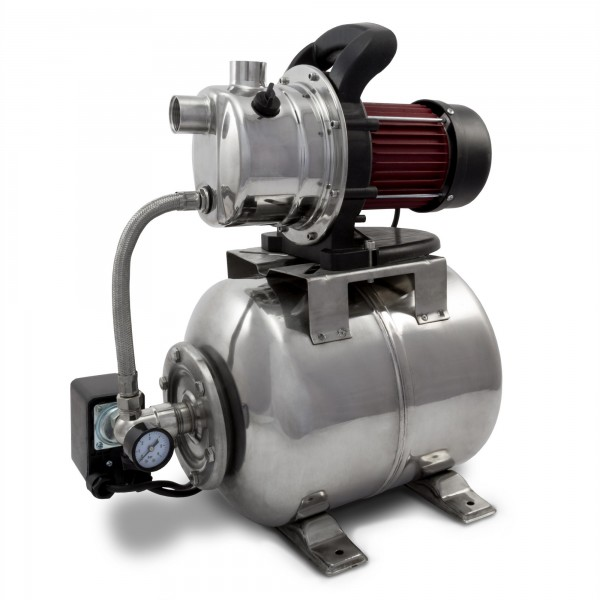 Berlan - Edelstahl Hauswasserwerk 1200 Watt / 3.800 L/h - BHW1200E