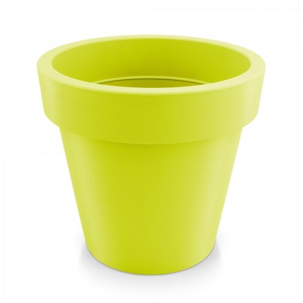 Kunststoff Blumentopf - mintgrün - Höhe 144 mm