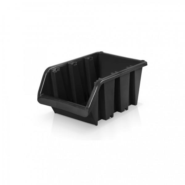 Lagerbox Größe 2 - schwarz 10 x 15,5 x 7 cm