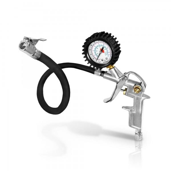 Berlan Druckluft Reifenfüller BDLRF200 mit Manometer