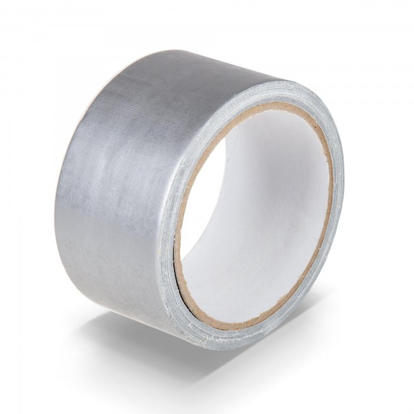 Textilklebeband 50 mm x 10 m - silber