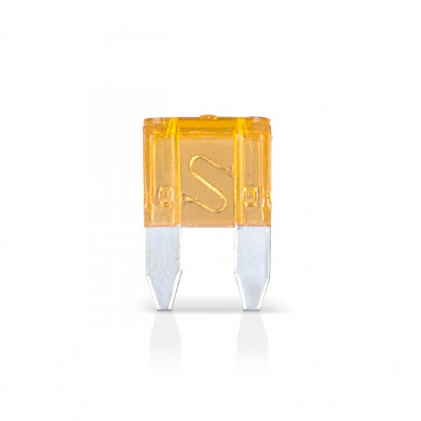 50 x 5 Ampere Flachsicherung Mini für Kfz